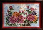Tranh đá quý, Vinh hoa phú quý- TD094