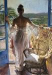 Những phụ nữ gợi cảm trong tranh Vicente Romero