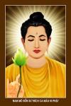Phật Thích Ca.002 (tranh ép gỗ đổ bóng)