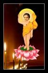 Phật Thích Ca.064 (tranh ép gỗ bóng)