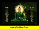 Phật ngọc Thích Ca 091(laminater bóng trên gỗ)