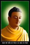 Tranh Phật thích Ca.178 (tranh ép gỗ bóng)