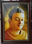 Phật thích ca ( in dầu ép foam 906 )