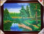Tranh sơn dầu phong cảnh S170
