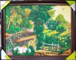 Tranh sơn dầu-phong cảnh châu âu-s164