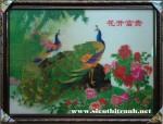 Tranh 3D02 – Khai hoa phú quý