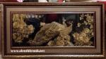 Tranh đồng mạ vàng 24k-phú quý phồn vinh -MV031