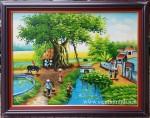 Tranh sơn dầu ,đồng quê – S050