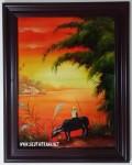 10 mẫu tranh sơn mài đồng quê các mẫu ,SM224 > 1,2,3,4