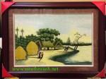 Tranh thêu tay-quê hương-t276