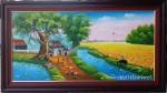 Tranh sơn dầu ,đồng quê – S195