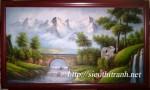 Tranh Sơn dầu-phong cảnh-s10