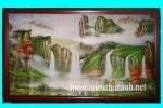 Tranh sơn dầu thác nước-s16