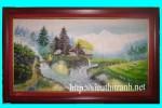 Tranh sơn dầu-phong cảnh-s18