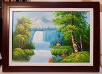 Tranh sơn dầu phong cảnh-s191