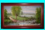 Tranh sơn dầu-phong cảnh-s21
