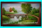 Tranh sơn dầu-phong cảnh-s24