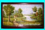 Tranh sơn dầu- phong cảnh-s25