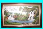 Tranh sơn dầu -phong cảnh -s28