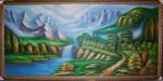 Tranh sơn dầu-sơn thuỷ-s05