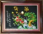 Tranh thêu thư pháp Tài Lộc – F100