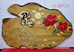 Tranh gỗ nghệ thuật thư pháp chữ PHÚC-TG007