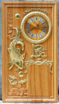 Lốc lịch gỗ gõ đỏ mạ vàng ,Vạn Sự Hanh Thông -TG140