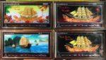 Tranh lịch vạn niên,Thuận buồm xuôi gió-MS720 -401-406-437