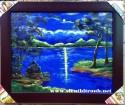 Tranh sơn dầu Tình yêu đêm trăng_s186