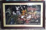 Tranh thêu tay-Tổ ấm hạnh phúc-T206