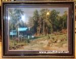 Tranh thảm thổ nhĩ kỳ-rừng thu-D01