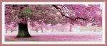Tranh thêu chữ thập, Chiều tím – YA251