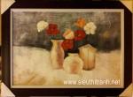 Trừu tượng hoa -tranh sơn dầu-s118