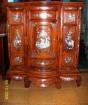 Tủ thờ có cẩn ốc gỗ cẩm lai