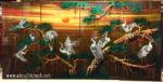Tùng Hạc diên niên ,sơn mài khảm trai -SM281