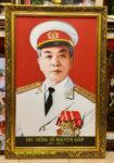 Đại tướng Võ Nguyên Giáp ( in dầu cao cấp -IN047 )