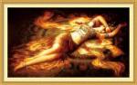 Tranh thêu chữ thập-Thiếu nữ chapi-ya246